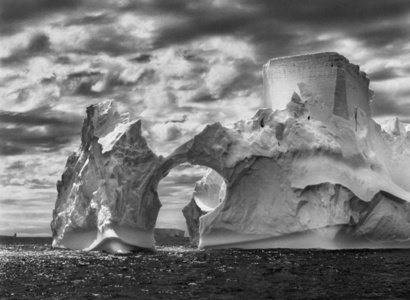 Iceberg between Paulet Island and the South Shetland Islands in the Weddell Sea.