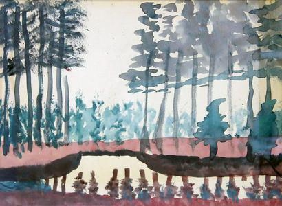 Trees near Canal