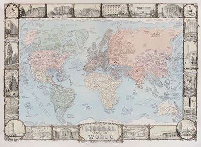 A Liberal Map of the World