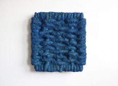 Lichtbild Leinen Blau