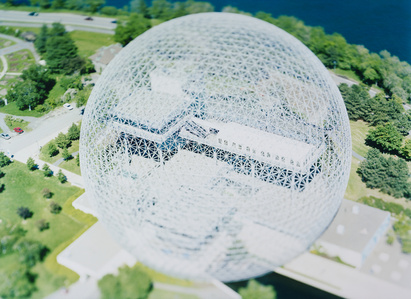 site specific_ MONTREAL 04 [Buckminster Fuller Dome]