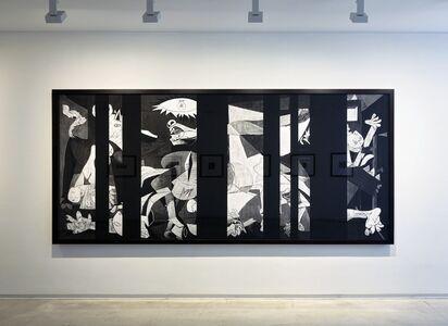 Robert Longo : Picasso Redacted