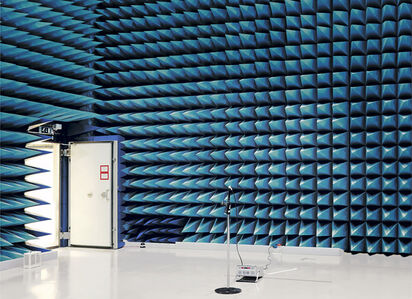 Anechoic Chmaber, European Space Research and Technology Centre (ESTEC), Noordwijk, The Netherlands