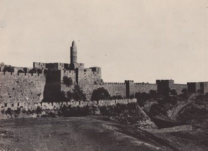 Palestine: Jeruselum, Partie Occidentale des Murailles
