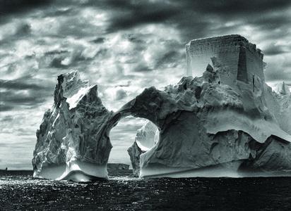 Iceberg Between Paulet Islands and the Shetland Islands,Antarctica
