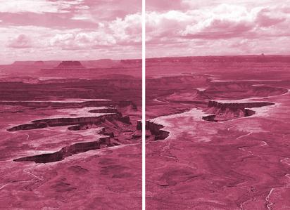 Magenta Landscape #3