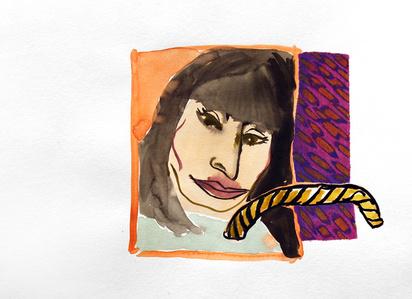 Anjelica and Rope