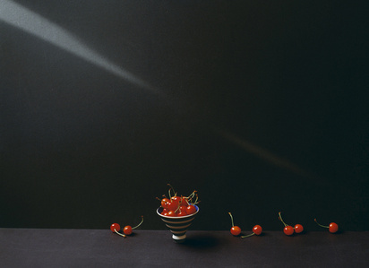 Portrait of cherries