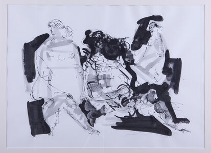 Untitled (Three Figures Reclining)