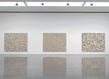 Damien Hirst: Colour Space Paintings