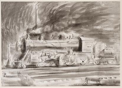 Untitled (locomotive)