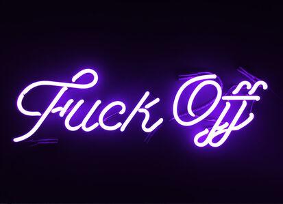 Fuck Off (violet)