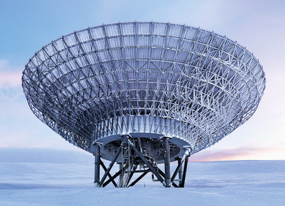 EISCAT Svalbard Radar (ESR), Spitsbergen Island, Norway