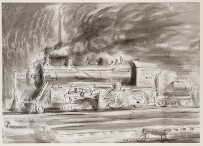 Untitled (locomotive)