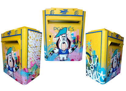 "FRENCH MAIL BOX ""Droopy"""