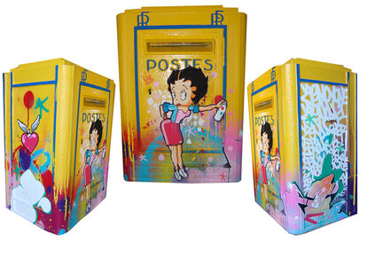 "FRENCH MAIL BOX ""Betty Boop"""