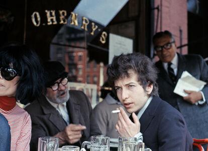 Bob Dylan at O'Henry's Cafe, NYC