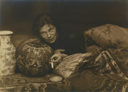 Portrait of Germaine Krull, Berlin