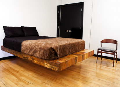 Suspended Birdseye Bed