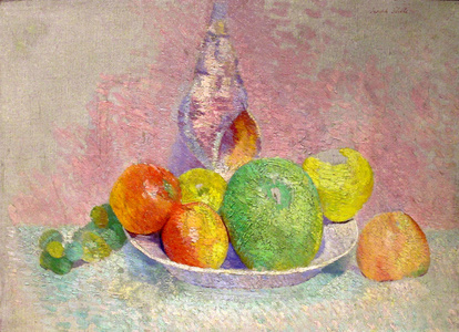 """""""Still Life with Apples and Shell"""""""