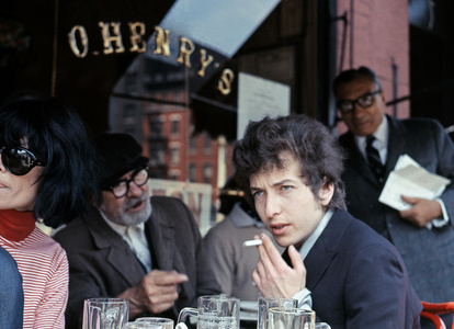 Bob Dylan at O'Henry's Cafe, NYC