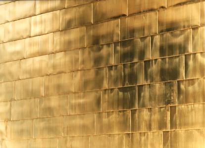 Golden Wall (No. 3)
