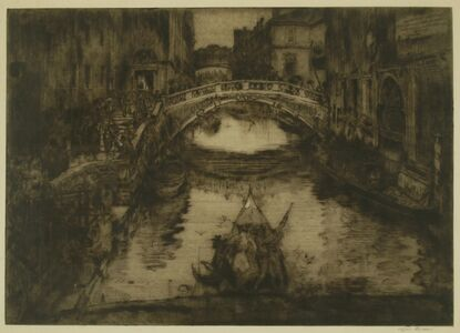 A Venetian Waterway