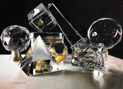 Crystal, Brass and Refracted Light