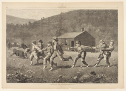 Snap the Whip, from Harper's Weekly, September 20, 1873