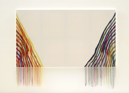 Abstract Weave / Morris Louis Theta 1961