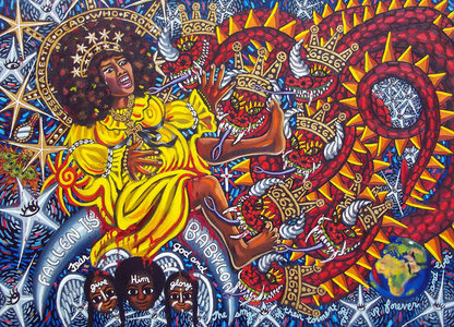 Cachita-Ochun and the Dragon