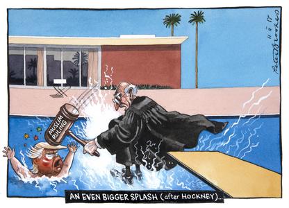 An Even Bigger Splash (After Hockney)