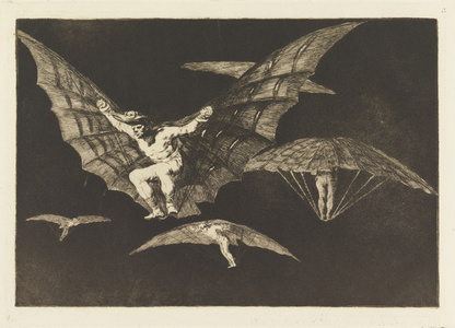 """Manner of Flying, plate 13 in """"Proverbs"""""""