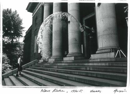 Klaus Rinke, The 10th Tokyo Biennale '70 - Between Man and Matter, Tokyo Metropolitan Art Museum, May 1970