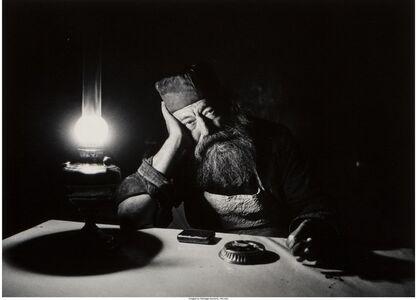 Torah Scribe Jaffa (1971), Alley in Jerusalem (1972), Father Neophitus (1967), Yom Kippur Eve (1967), Bereaved Father (1976)