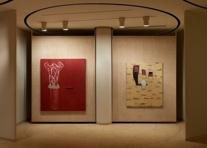 "Julian Schnabel ""Paintings that I hope Philip and David would like"""