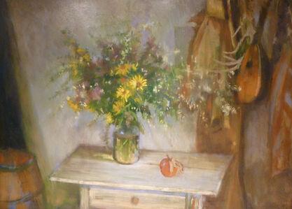Garden Bouquet with Apple