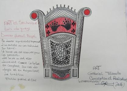 Dossier fauteuil royal