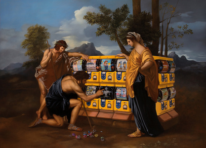 The Playground of the Master – Le Jeux de Poussin