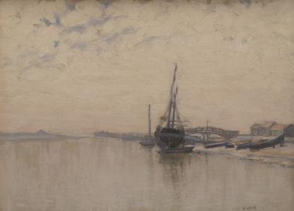 River Scene, France