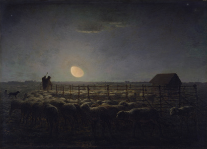 The Sheepfold, Moonlight