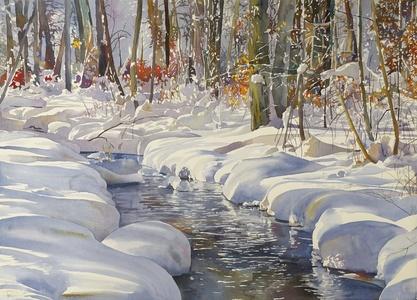 Small Creek, Heavy Snow