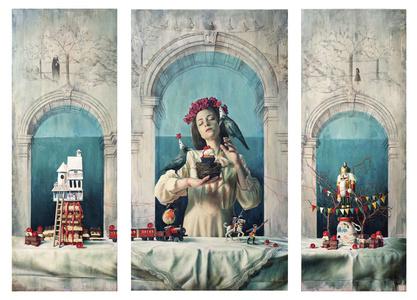 Triptych: Mondi Celesti VI - Apologia di un candore