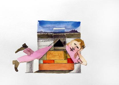 Crispin Glover in Landscape