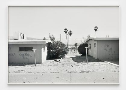 Security and Stabilization Operations, Graffiti (GI Go Home), from 29 Palms