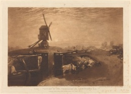 Windmill and Lock