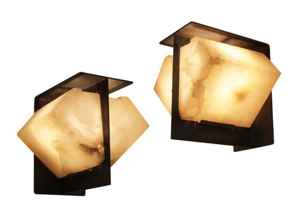 Pair of wall sconces, model LA 550
