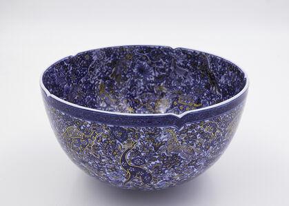 Bowl with Shinrabansho ( All Nature, All Life ) Motif