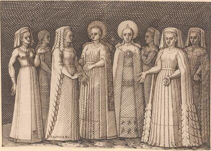 Eight Ladies in Ancient Costumes