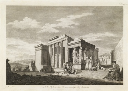 A View of the West End of the Temple of Minerva Polias, and of the Pandrosium